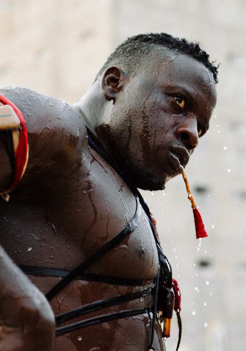 Senegalese Wrestling - Lutte Senegalaise Nico Therin 015